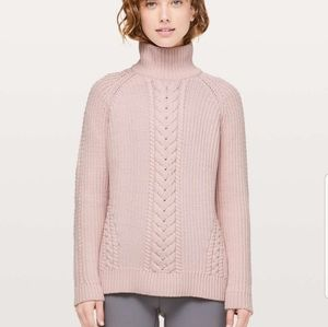 Lululemon Bring the Cozy Cableknit Sweater